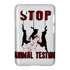 Stop Animal Testing   Rabbits  Samsung Galaxy Tab 2 (7 ) P3100 Hardshell Case