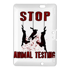 Stop Animal Testing   Rabbits  Kindle Fire Hdx 8 9  Hardshell Case