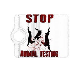 Stop Animal Testing   Rabbits  Kindle Fire Hd (2013) Flip 360 Case