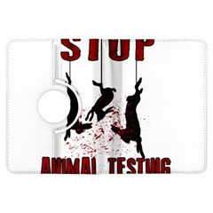 Stop Animal Testing   Rabbits  Kindle Fire Hdx Flip 360 Case