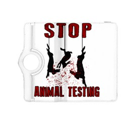 Stop Animal Testing   Rabbits  Kindle Fire Hdx 8 9  Flip 360 Case