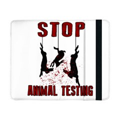 Stop Animal Testing   Rabbits  Samsung Galaxy Tab Pro 8 4  Flip Case