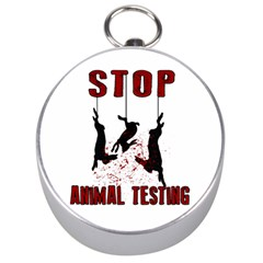 Stop Animal Testing   Rabbits  Silver Compasses