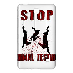 Stop Animal Testing   Rabbits  Samsung Galaxy Tab 4 (7 ) Hardshell Case
