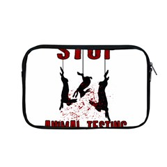 Stop Animal Testing   Rabbits  Apple Macbook Pro 13  Zipper Case