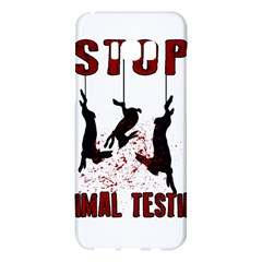 Stop Animal Testing   Rabbits  Samsung Galaxy S8 Plus Hardshell Case