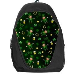 St Patricks Day Pattern Backpack Bag