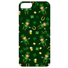 St Patricks Day Pattern Apple Iphone 5 Classic Hardshell Case