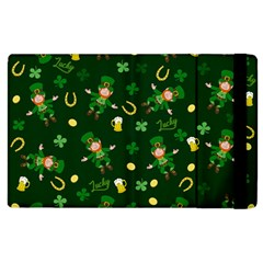 St Patricks Day Pattern Apple Ipad 2 Flip Case