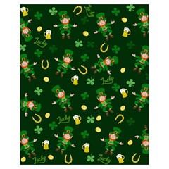 St Patricks Day Pattern Drawstring Bag (small)