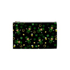 St Patricks Day Pattern Cosmetic Bag (small)