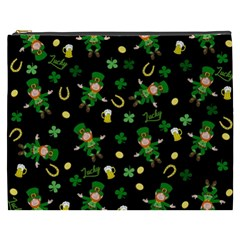St Patricks Day Pattern Cosmetic Bag (xxxl)