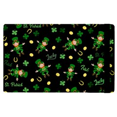 St Patricks Day Pattern Apple Ipad Pro 12 9   Flip Case