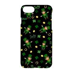 St Patricks Day Pattern Apple Iphone 7 Hardshell Case