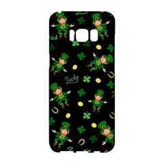 St Patricks Day Pattern Samsung Galaxy S8 Hardshell Case