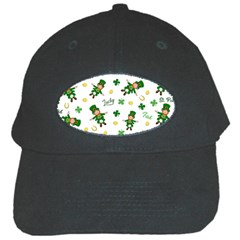 St Patricks Day Pattern Black Cap