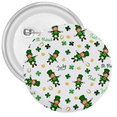 St Patricks Day Pattern 3  Buttons