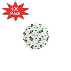 St Patricks Day Pattern 1  Mini Magnets (100 Pack)