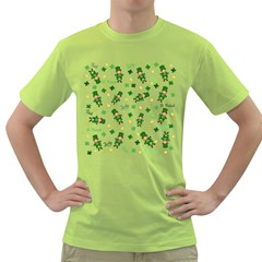 St Patricks Day Pattern Green T Shirt