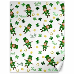 St Patricks Day Pattern Canvas 36  X 48