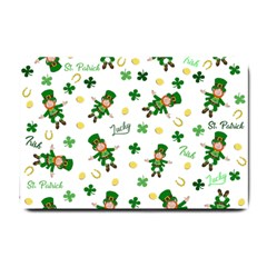 St Patricks Day Pattern Small Doormat