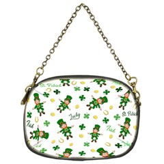 St Patricks Day Pattern Chain Purses (one Side)