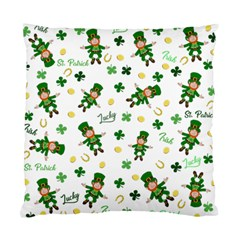 St Patricks Day Pattern Standard Cushion Case (two Sides)
