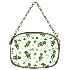 St Patricks Day Pattern Chain Purses (two Sides)