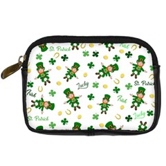St Patricks Day Pattern Digital Camera Cases