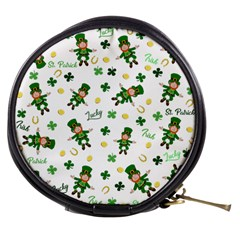 St Patricks Day Pattern Mini Makeup Bags