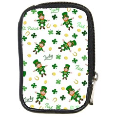 St Patricks Day Pattern Compact Camera Cases