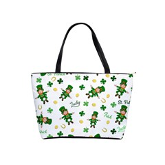 St Patricks Day Pattern Shoulder Handbags