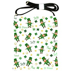 St Patricks Day Pattern Shoulder Sling Bags
