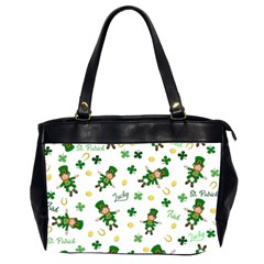 St Patricks Day Pattern Office Handbags (2 Sides)