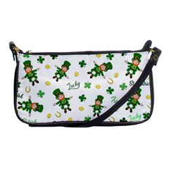St Patricks Day Pattern Shoulder Clutch Bags