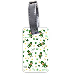 St Patricks Day Pattern Luggage Tags (one Side)
