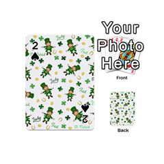 St Patricks Day Pattern Playing Cards 54 (mini)
