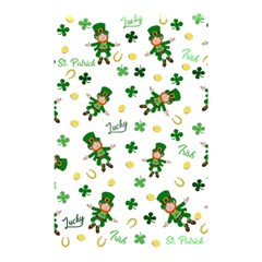 St Patricks Day Pattern Shower Curtain 48  X 72  (small)