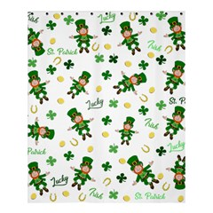 St Patricks Day Pattern Shower Curtain 60  X 72  (medium)
