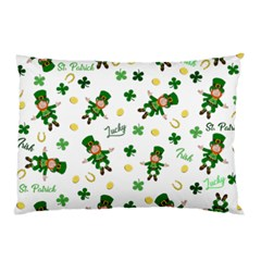 St Patricks Day Pattern Pillow Case (two Sides)