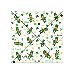St Patricks Day Pattern Acrylic Tangram Puzzle (4  X 4 )