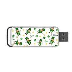 St Patricks Day Pattern Portable Usb Flash (two Sides)