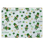 St Patricks day pattern Cosmetic Bag (XXL)  Front