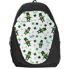 St Patricks Day Pattern Backpack Bag