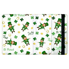 St Patricks Day Pattern Apple Ipad 3/4 Flip Case