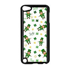St Patricks Day Pattern Apple Ipod Touch 5 Case (black)