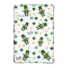St Patricks Day Pattern Apple Ipad Mini Hardshell Case (compatible With Smart Cover)