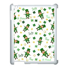 St Patricks Day Pattern Apple Ipad 3/4 Case (white)