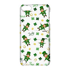 St Patricks Day Pattern Apple Ipod Touch 5 Hardshell Case With Stand