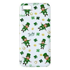 St Patricks Day Pattern Apple Iphone 5 Premium Hardshell Case